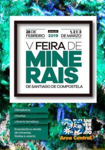 V Feira de Minerais de Santiago de Compostela