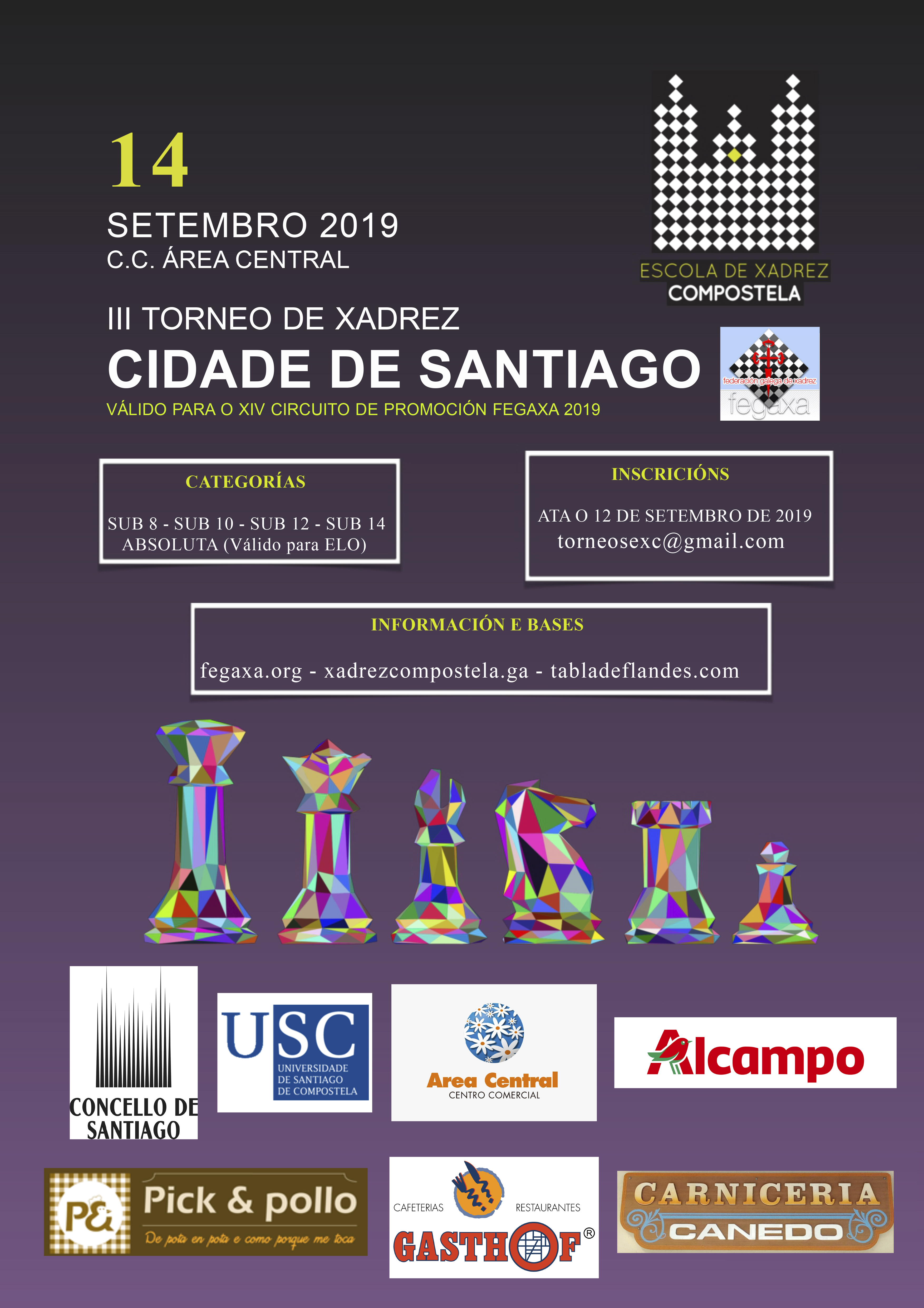 III Torneo de Xadrez Cidade de Santiago