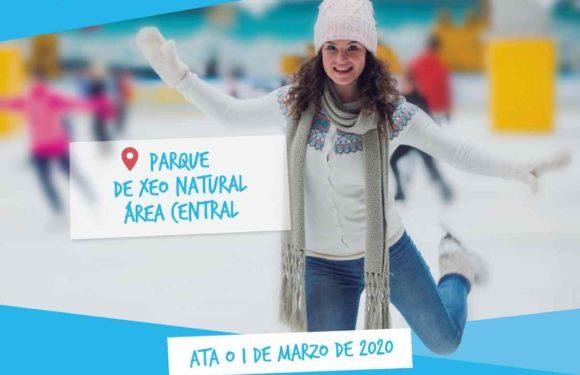 Pista de xeo natural en Area Central