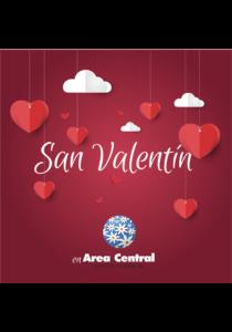 5.000 corazóns enchen de amor a Area Central.