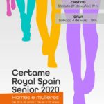 Casting e gala do certame Royal Spain Senior
