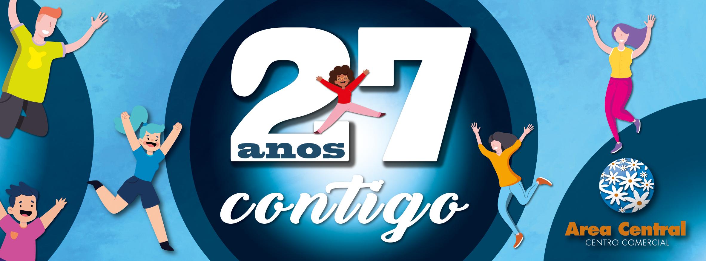 Estamos de aniversario, 27 anos ao teu lado!