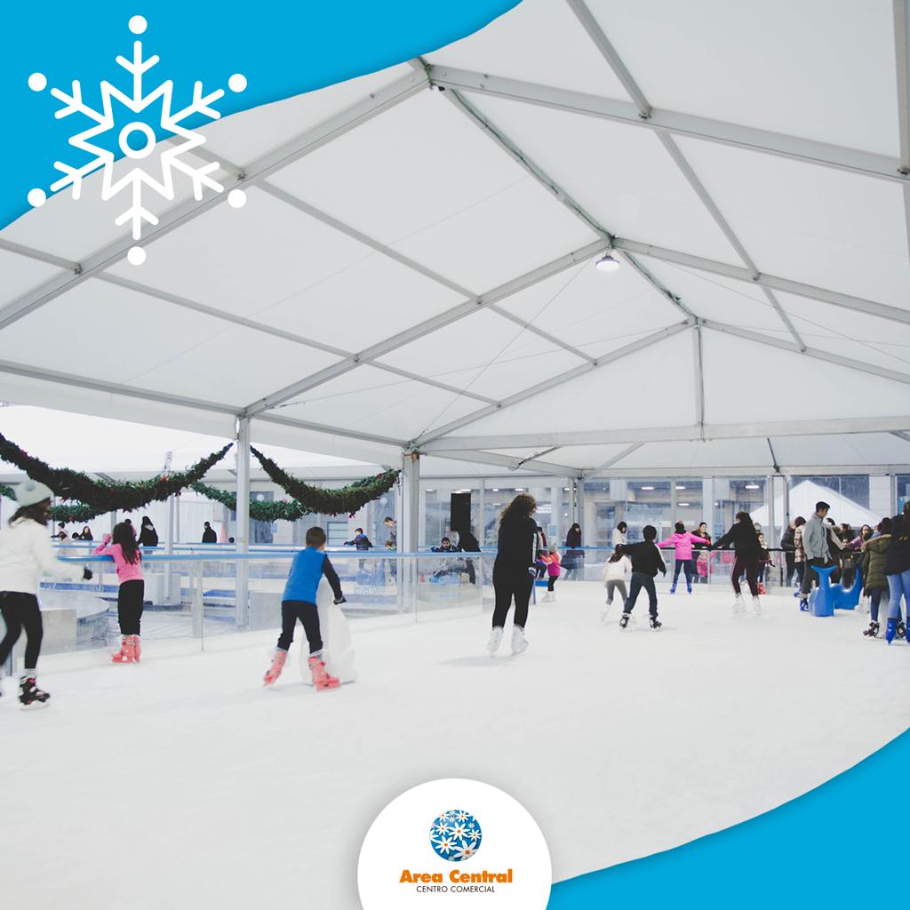 A única pista de xeo de Santiago de Compostela está en Área Central!