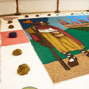 Ven visitar a gran alfombra de elementos naturais de Área Central
