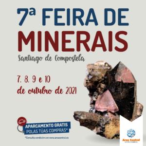 Goza da Feira de Minerais de Área Central do 7 ao 10 de outubro