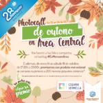 Promoción photocall de outono de Área Central